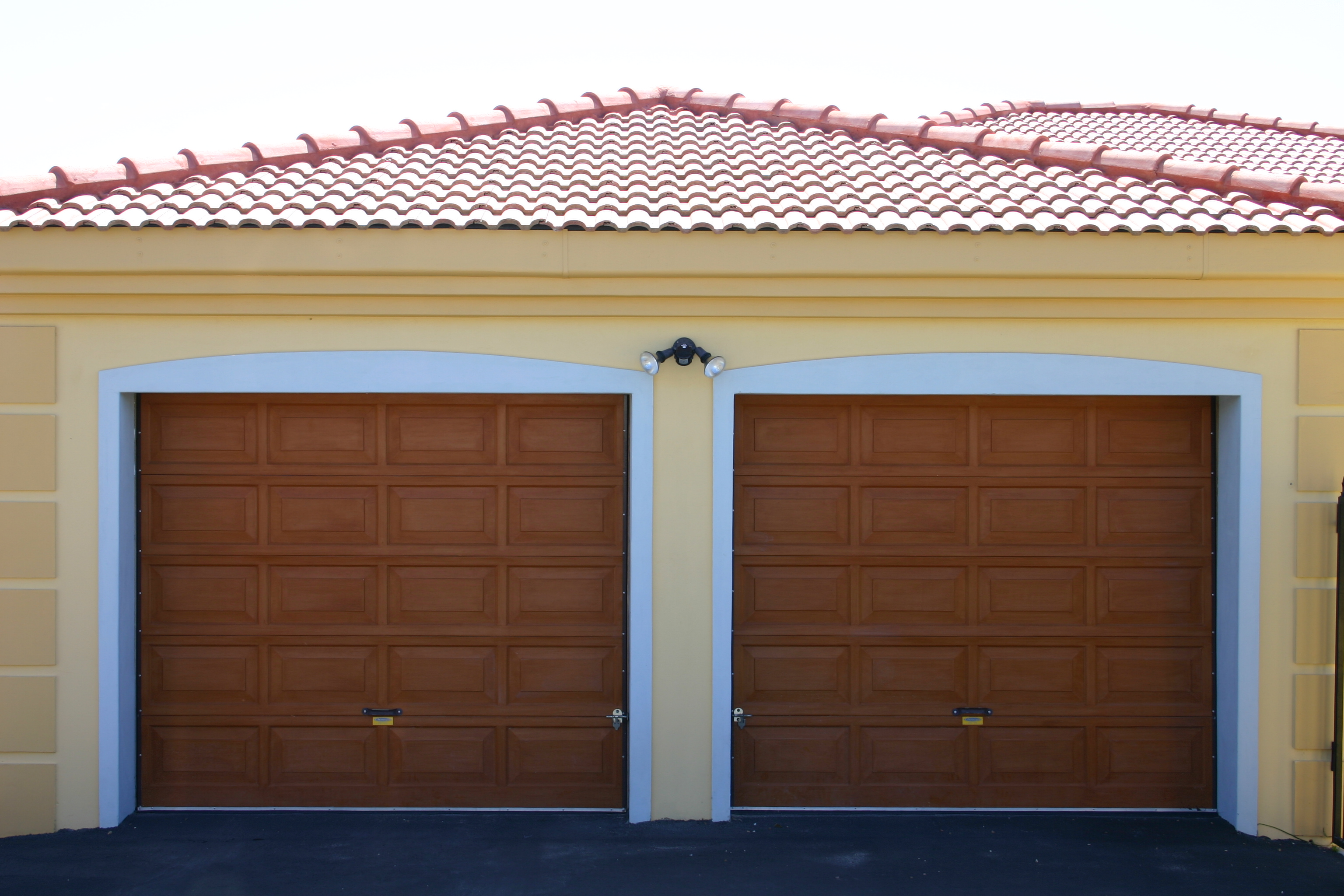 Garage Door Panels : Aluminium doors garage
