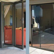 Slide and Fold Aluminium Doors