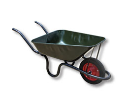 wheelbarrow, building equipment, gardening equipment, Omega Enterprises, Omega Hardware, Omega Glas & Aluminium, Omega Paint & Hardware