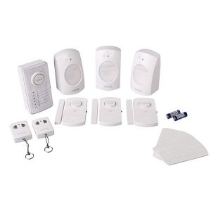 home securlity, alarm system, small alarm system, battersy operated alarm system, wireless alarm system, alarm with remote, Omega Enterprises, Omega Hardware, Omega Glas & Aluminium, Omega Paint & Hardware